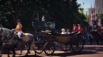 Die Queen und Prinz Philip